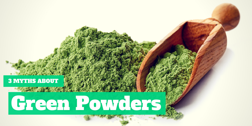 3 Myths About Greens Powders
