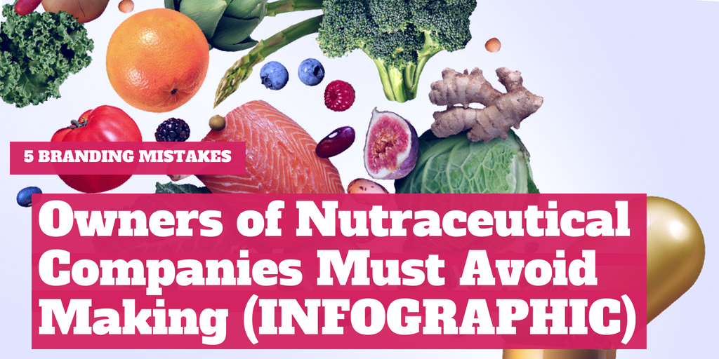 5 Branding Mistakes Owners of Nutraceutical Companies Must Avoid Making [INFOGRAPHIC]