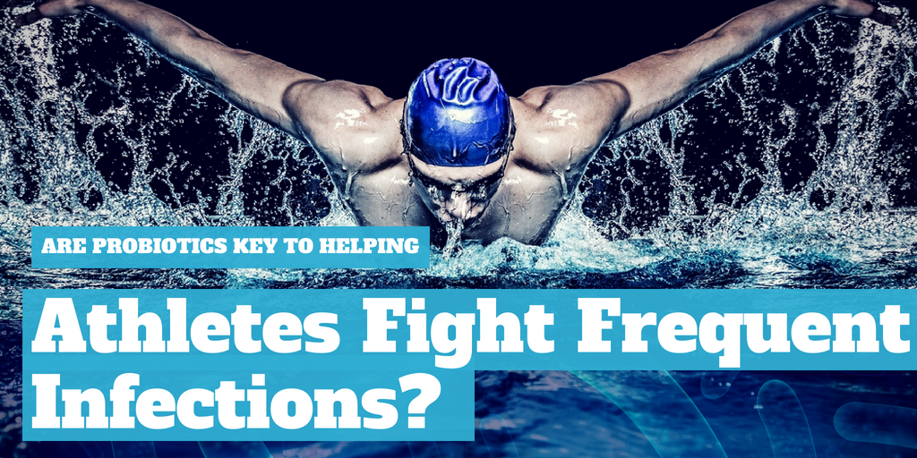 Are probiotics the key to helping athletes fight frequent infections?