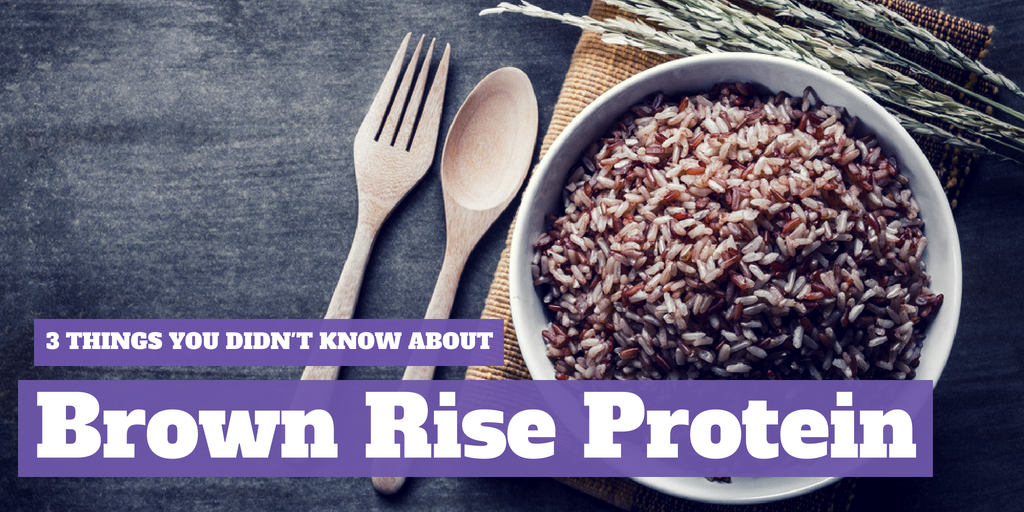 Brown Rice Protein- 3 Things You Didn't Know
