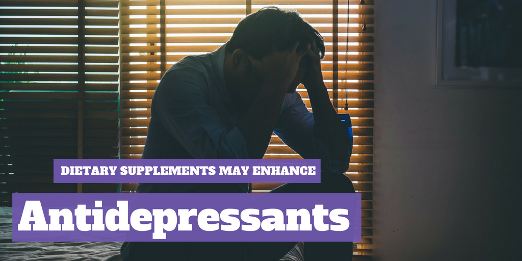 Dietary Supplements May Enhance Antidepressants
