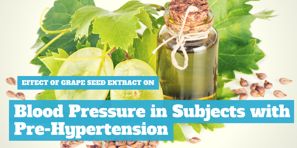 Effect of Grape Seed Extract on Blood Pressure in Subjects with Pre-Hypertension