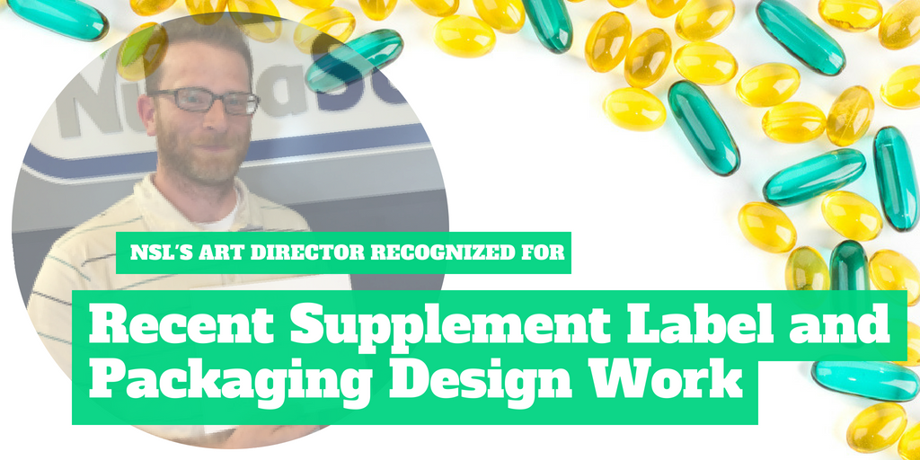 NutraScience Labs' Art Director Recognized for Recent Supplement Label and Packaging Design Work