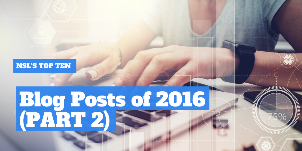 NutraScience Labs' Top 10 Blog Post of 2016 - PART TWO