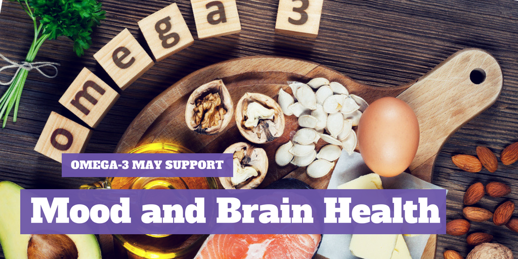 Omega-3 May Support Mood and Brain Health