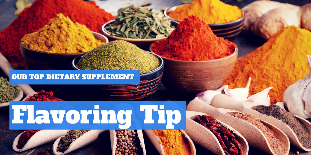 Our Top Dietary Supplement Flavoring Tip