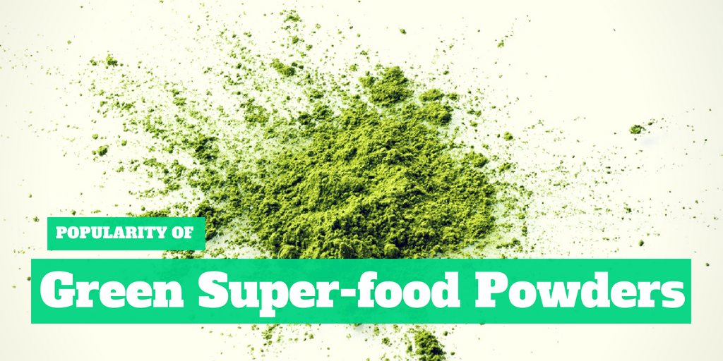 Popularity of Green Superfood Powders
