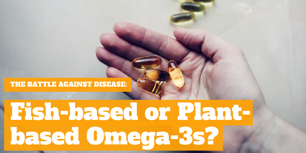 Fighting Heart Disease: Fish-based or Plant-based Omega-3s?
