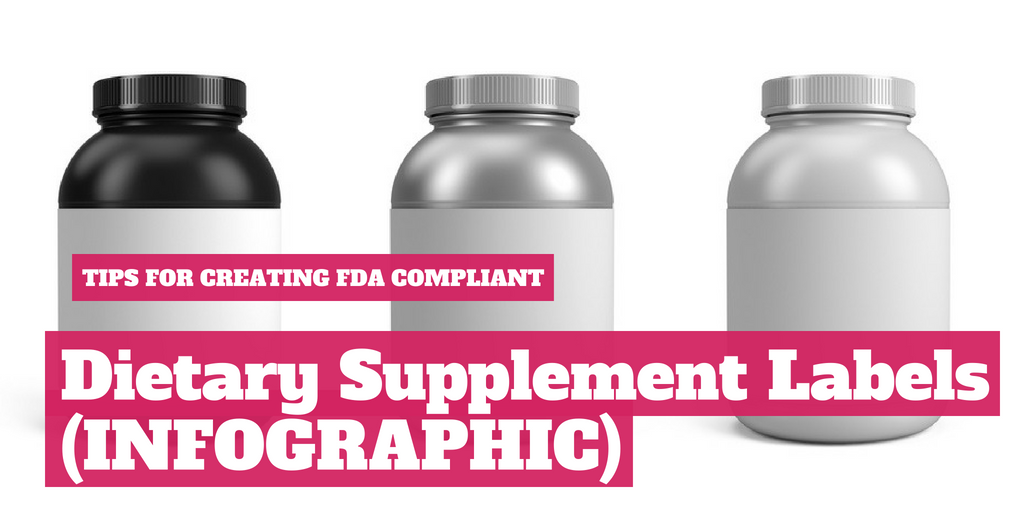 Tips for Creating FDA Compliant Dietary Supplement Label [Infographic]