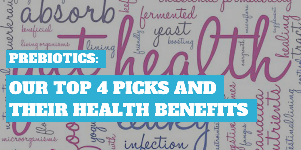 Prebiotics: Our Top 4 Picks and Their Health Benefits