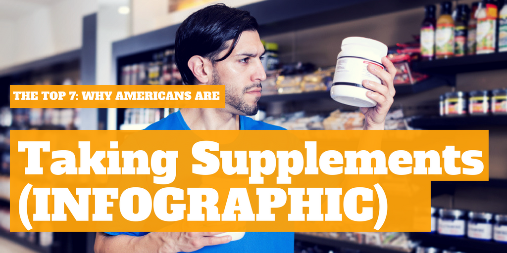 The Top 7: Why Americans Are Taking Supplements [INFOGRAPHIC]