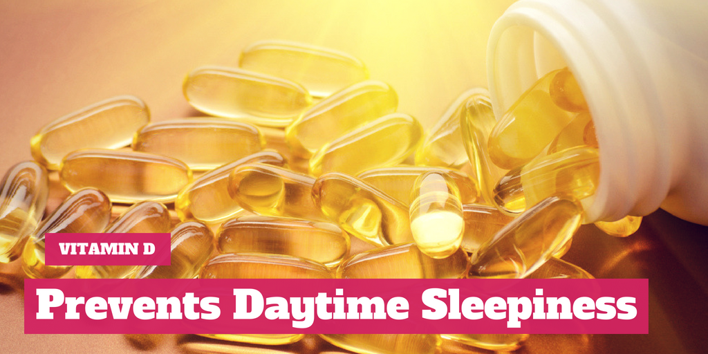 Research Suggests One of Vitamin D's Benefits Is That It Prevents Daytime Sleepiness
