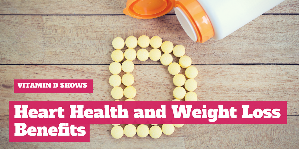 Vitamin D Shows Heart Health and Weight Loss Benefits