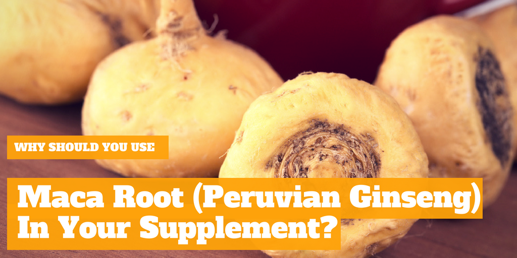 Why Should You Use Maca Root (Peruvian Ginseng) In Your Supplement?