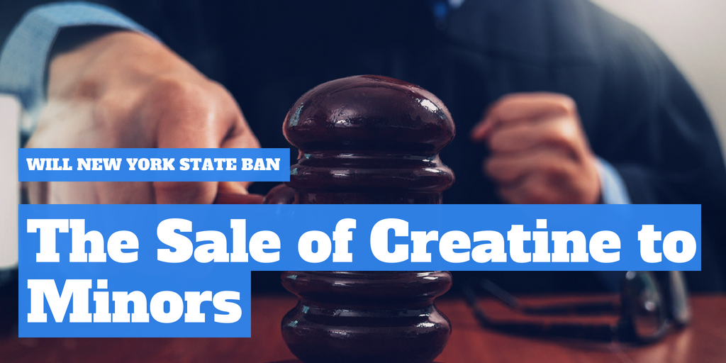 Will New York State ban the sale of creatine to minors?