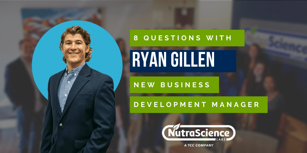 8 Questions with Ryan Gillen - New Business Development Manager