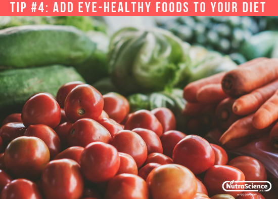 Add Eye Healthy Foods to Your Diet