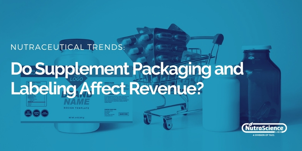 Do Supplement Packaging and Labeling Affect Revenue