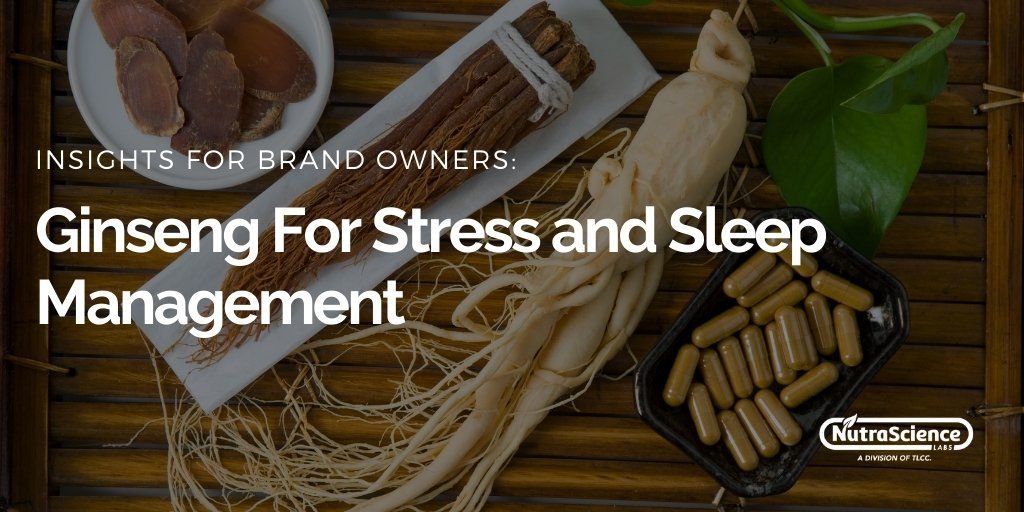 Ginseng For Stress and Sleep Management