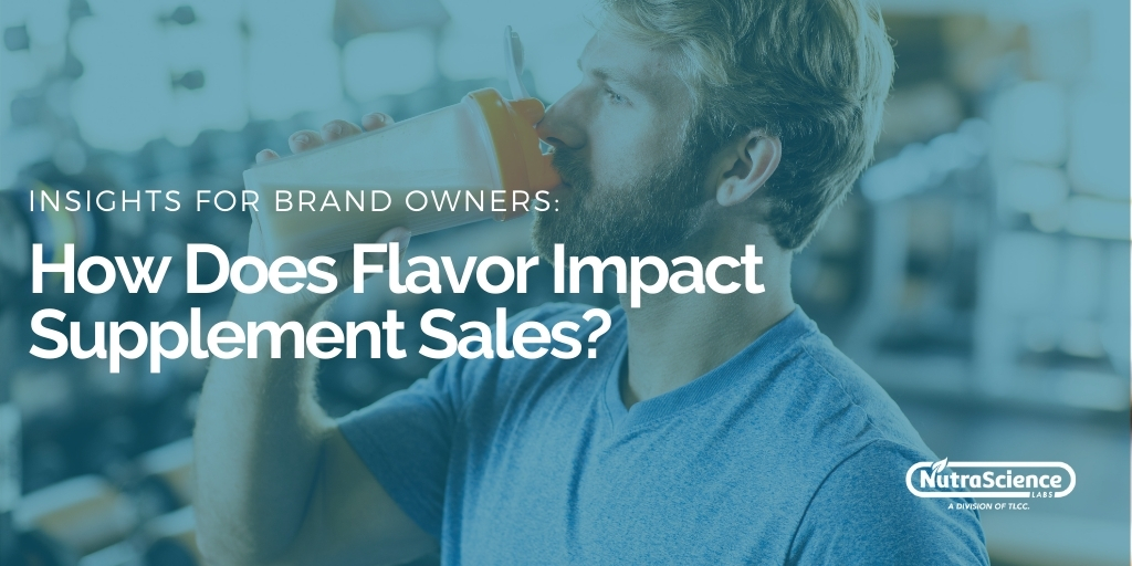 How Does Flavor Impact Supplement Sales v1.1