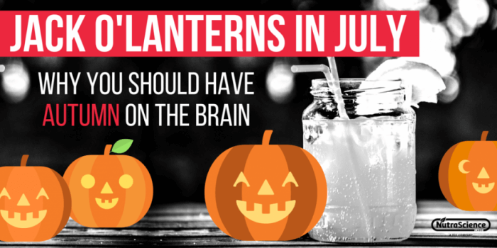 Jack O'Lanterns In July: Why You Should Have Autumn on the Brain