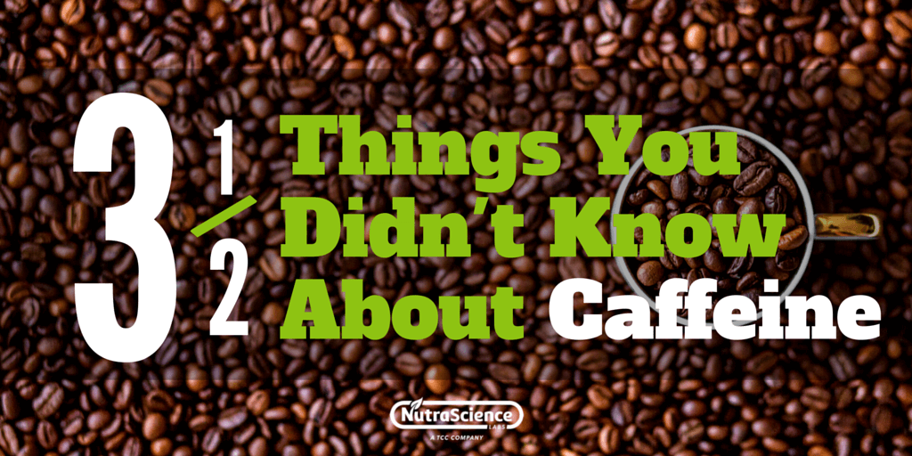 Three and a half things you didn't know about caffeine