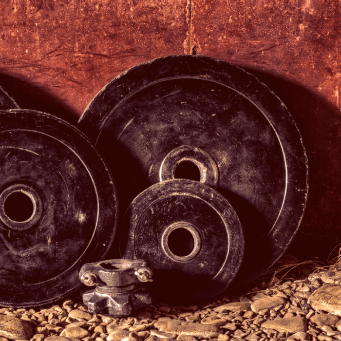 Loose barbell weights - 3 Strength and conditioning supplements
