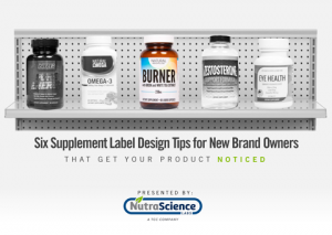 Six Supplement Label Design Tips for New Brand Owners