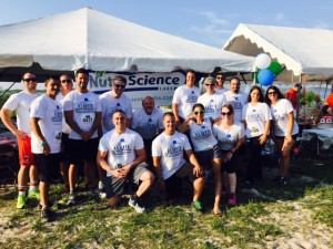 NutraScience Labs 2015 Marcum Workplace Challenge Team Photo