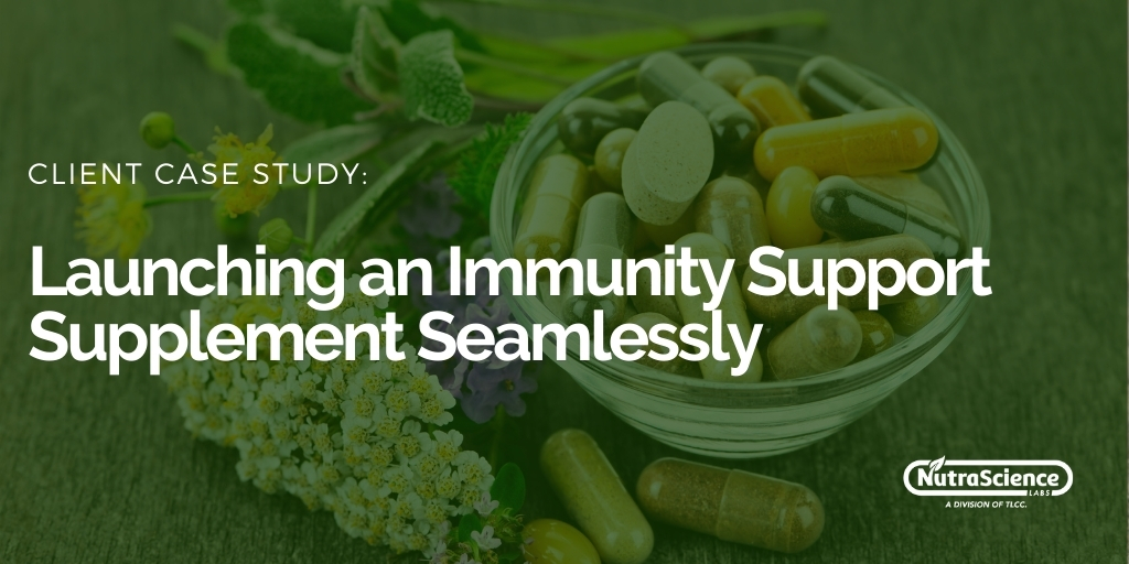 Launching an Immunity Support Supplement Seamlessly