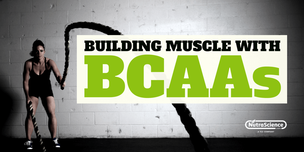 Building Muscle with BCAAs (Branched-chain amino acids)