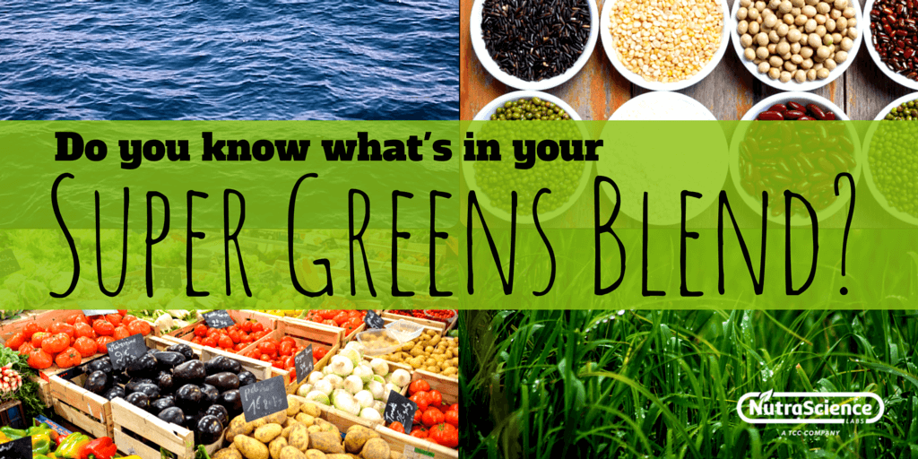 Do you know what's in your super greens blend?