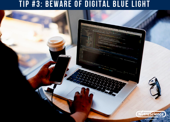 Beware of Digital Blue Light