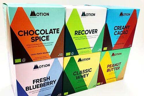 Colorful Supplement Packaging Example
