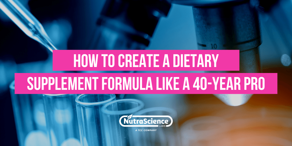 How to Create a Dietary Supplement Formula