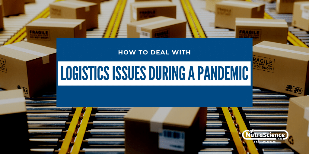 How to Deal with Logistics Issues During a Pandemic
