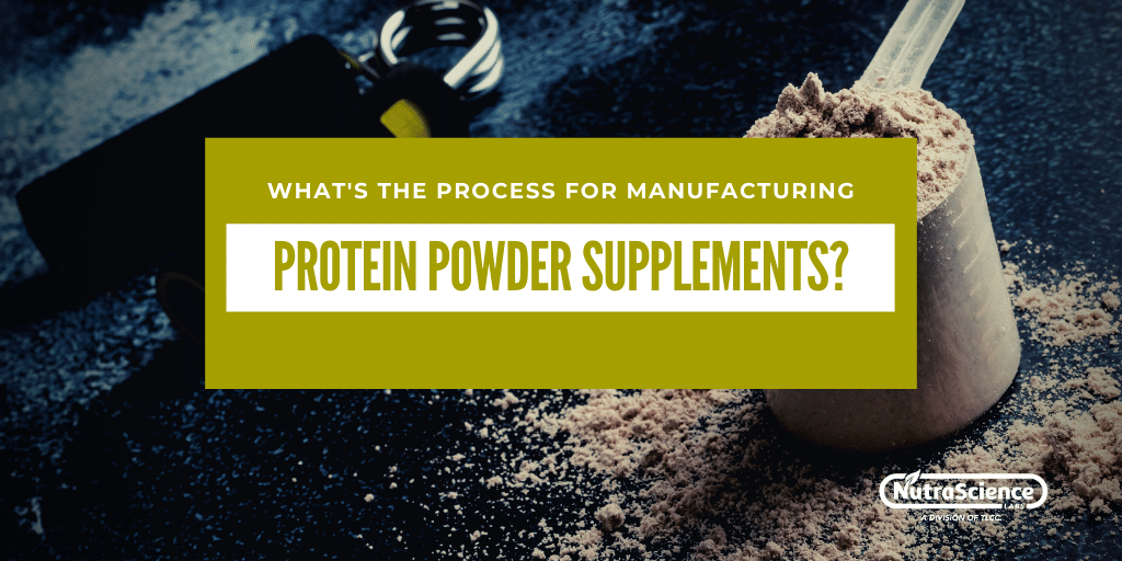 Powder Supplements Manufacturing Process