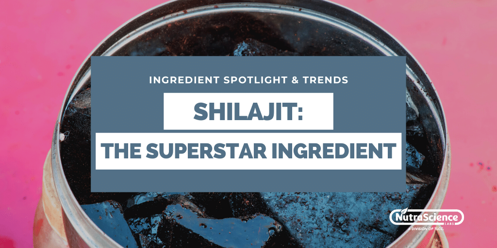 Shilajit - The Superstar Nutraceutical Ingredient You May Not Know About