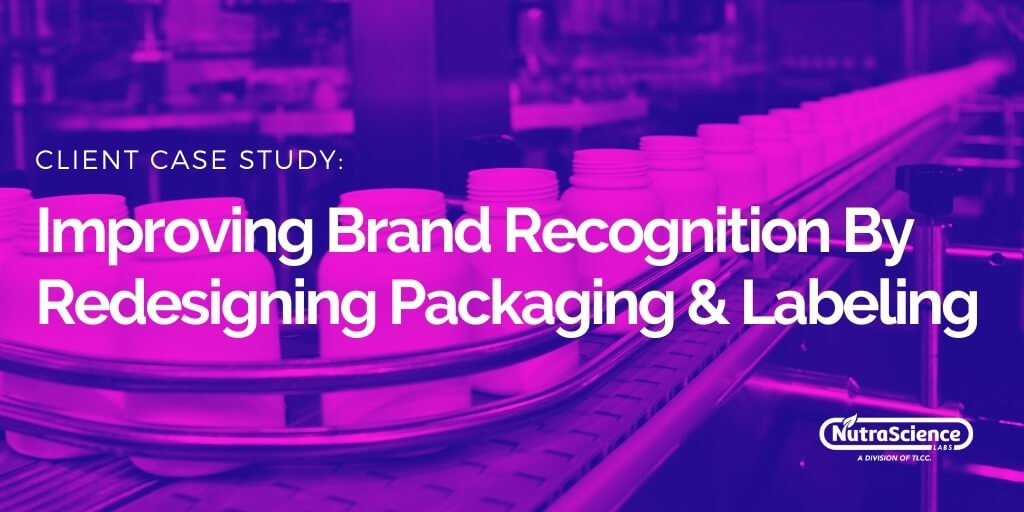Supplement Packaging and Label Design Customer Success Story