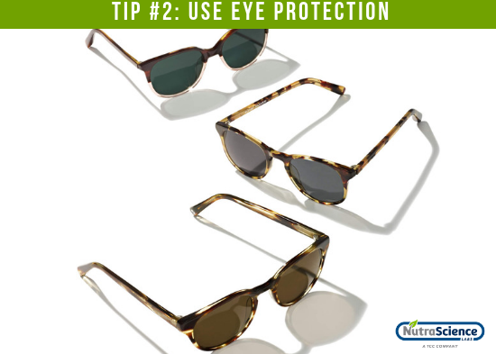 Use Eye Protection to Protect Vision
