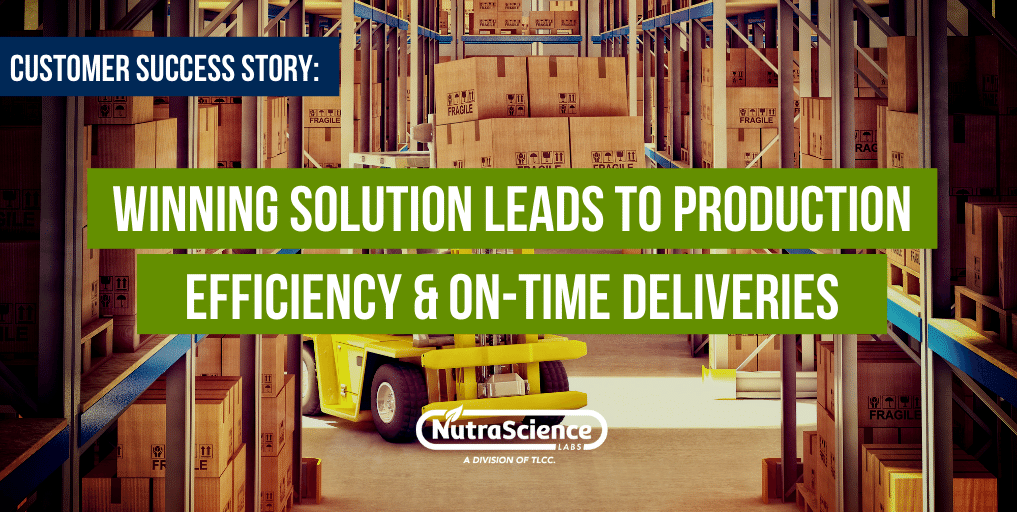 Customer Success Story - Winning Solution Leads to Production Efficiency & On-Time Deliveries