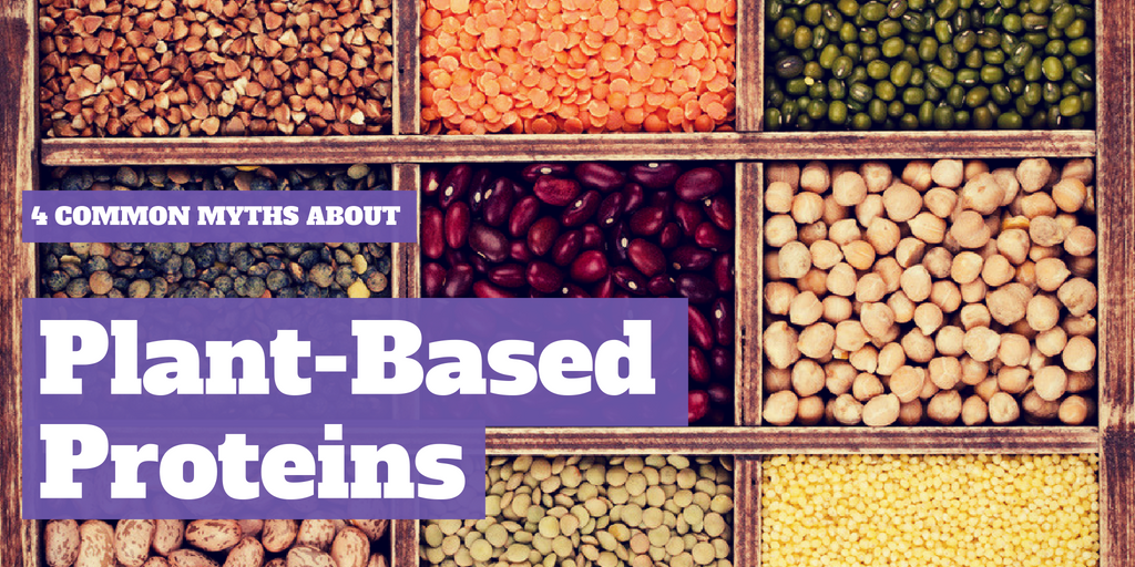 4 Myths about Plant-Based Protein