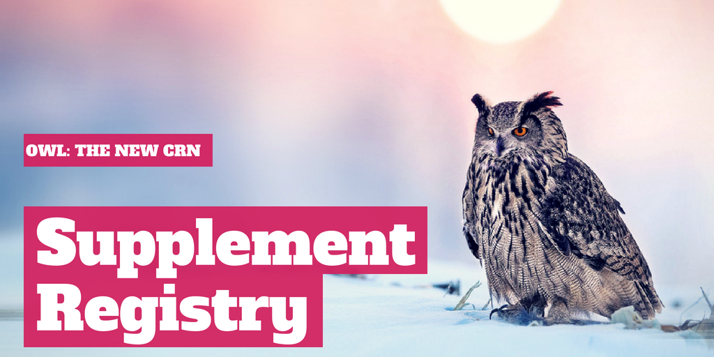 OWL: The New CRN Supplement Registry