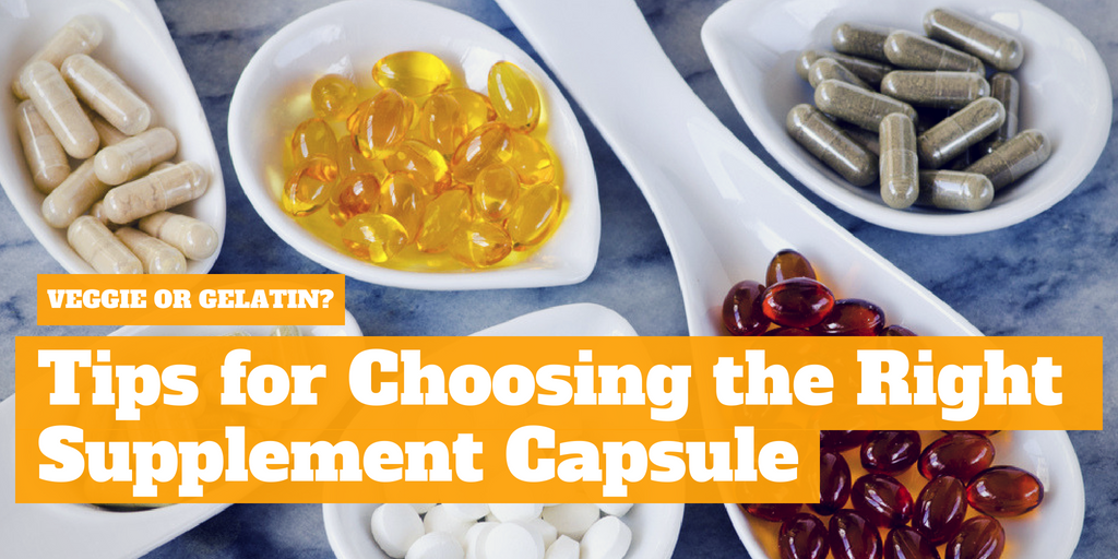 Veggie or Gelatin: Tips for Choosing the Right Supplement Capsule
