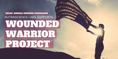 Summer 2017 Fundraiser Recap: NutraScience Labs Supports Wounded Warrior Project®
