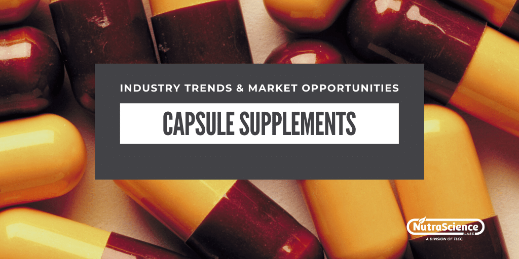 Capsule Supplements - Industry Trends and Market Opportunities