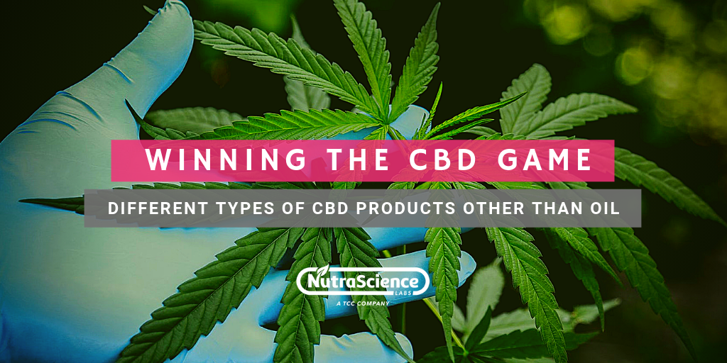 Different Types of CBD Products Other Than Oil