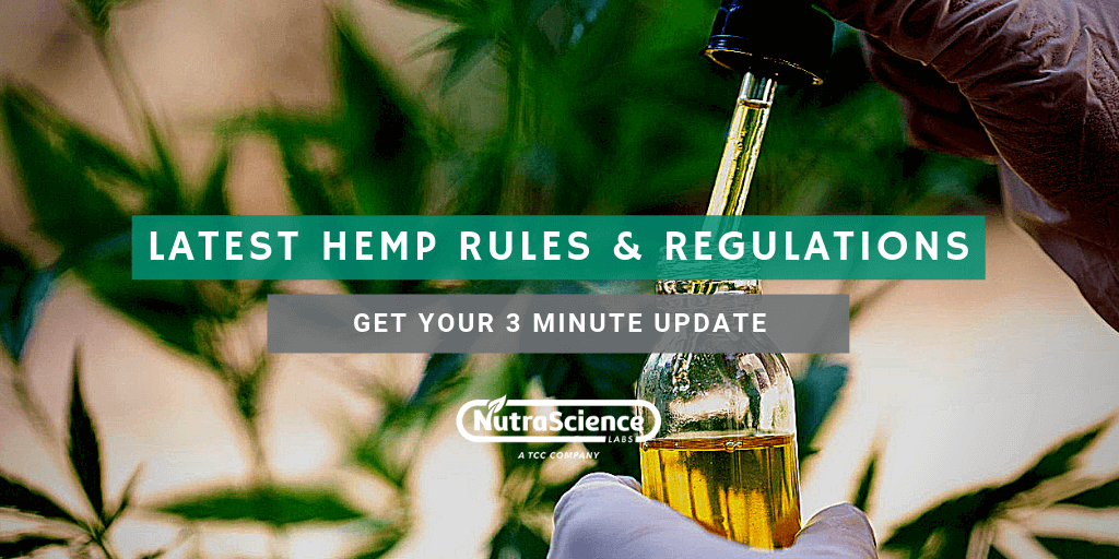 Latest Hemp Rules and Regulations: Get Your 3-Minute Update