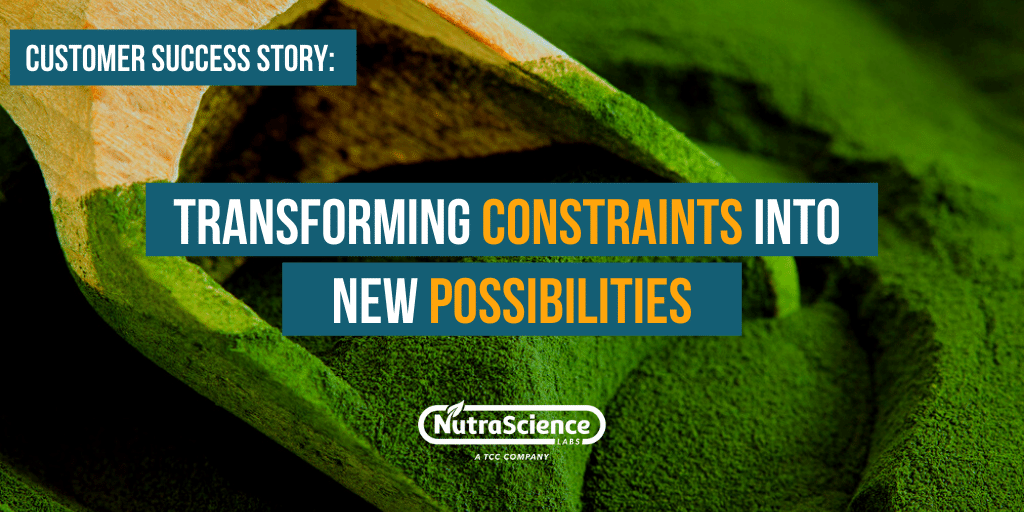 Customer Success Story - Transforming Constraints Into New Possibilities